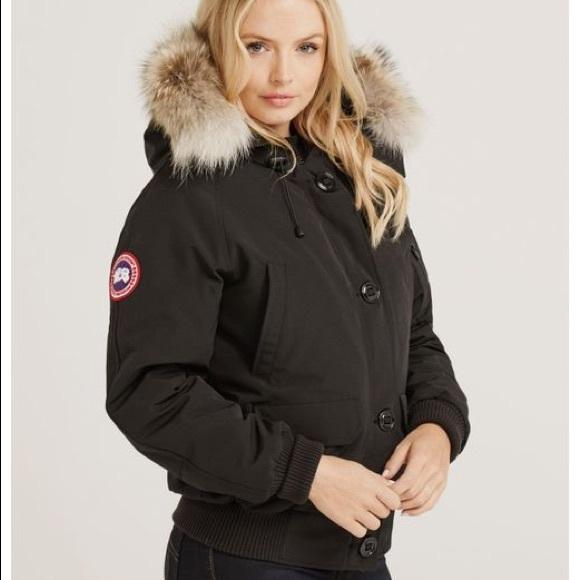 Canada Goose Jackets   Blazers - Canada Goose women s Chilliwack black  bomber xxs a604aa9961